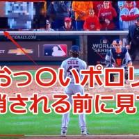 【メジャーリーグ】史上初ワールドシリーズでおっぱいポロリハプニング【動画あり】